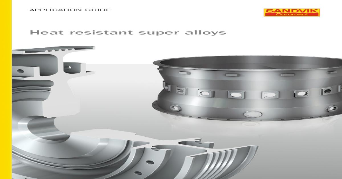 Heat resistant super alloys - Application guide - [PDF Document]