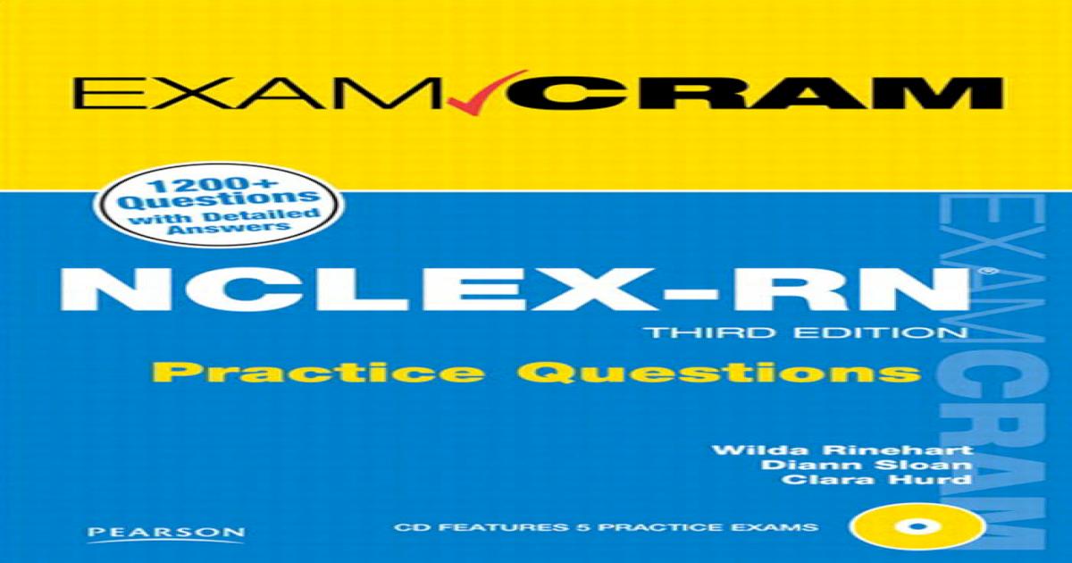 Exam Cram NCLEX 3rd Ed - [PDF Document]