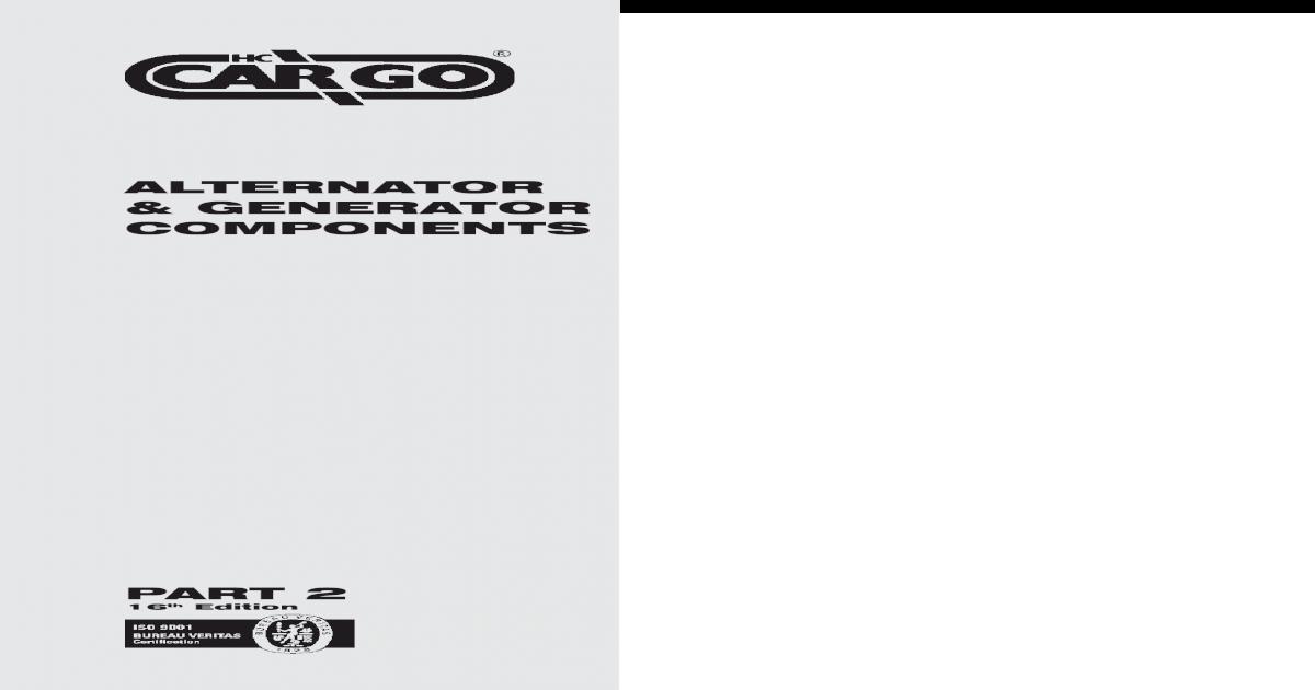 DELCO HEAVY DUTY ALTERNATOR 21SI 14.6V 1 W 160 AMP