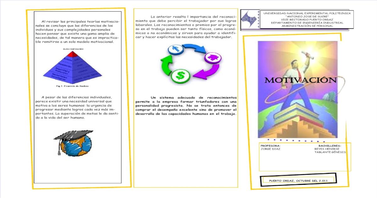Triptico Motivacin Pdf Document