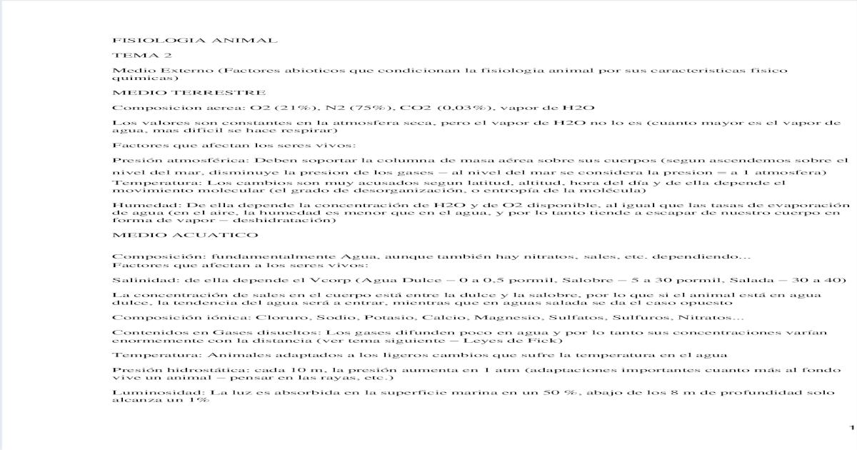 Fisiologia Animal Pdf Document