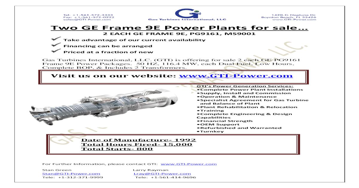 Ge Frame 9e Gas Turbine - Wallpaperzen org