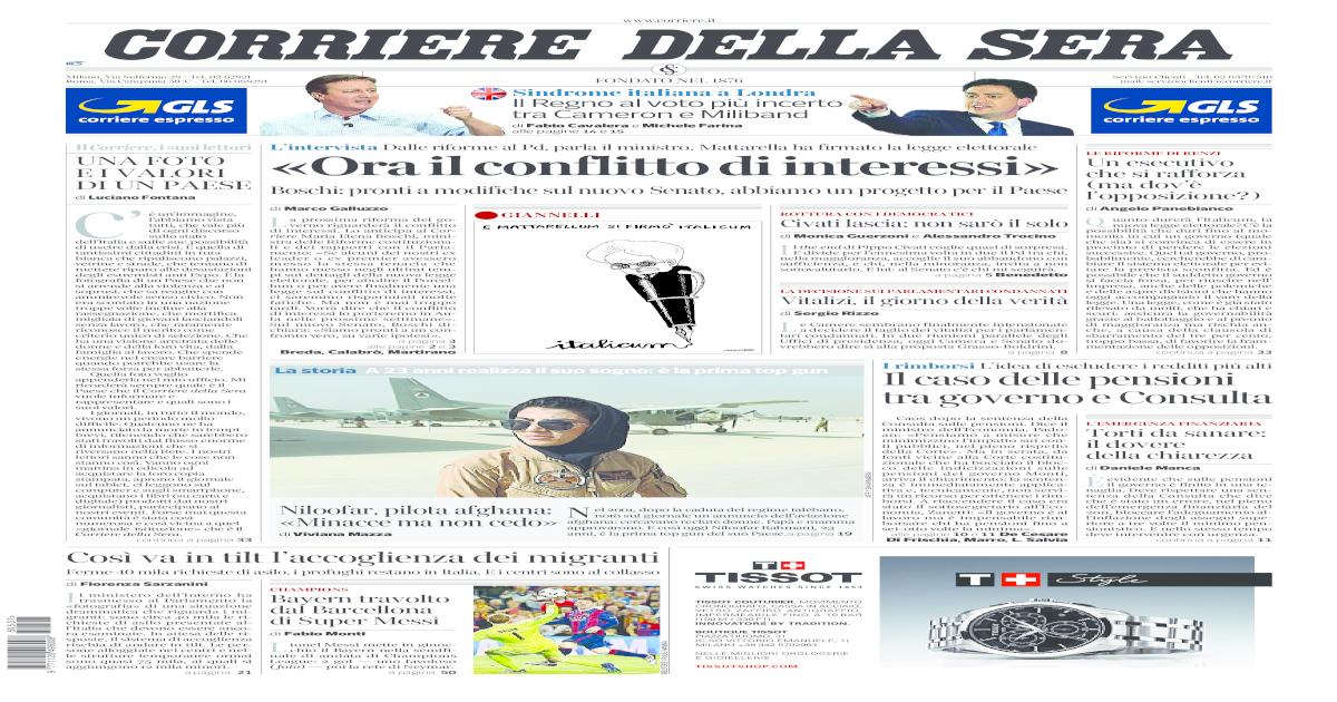newest 0df00 14ddd IL CORRIERE DELLA SERA -  PDF Document