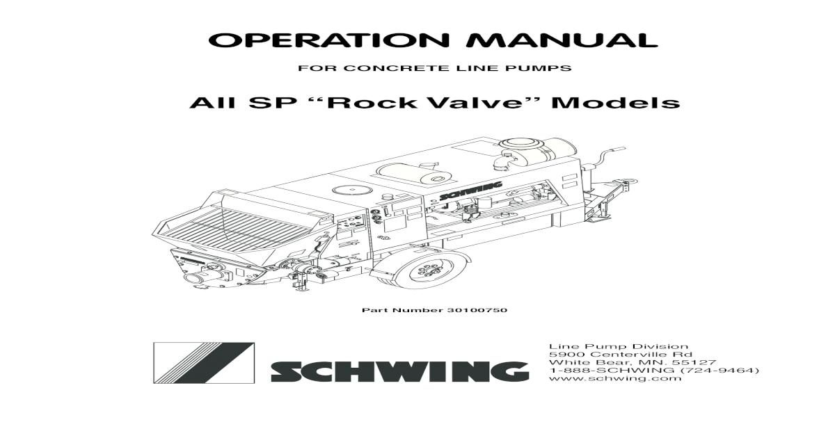 Schwing Sp 500 English - [PDF Document]