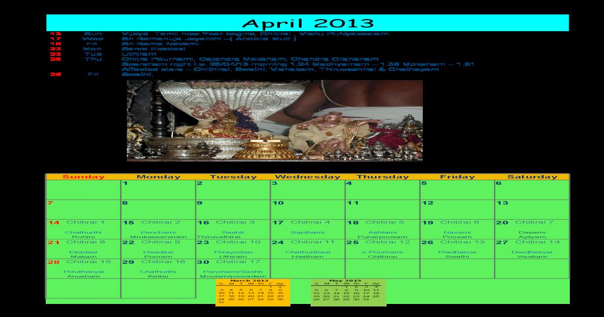 2013 Photo Calendar - [PDF Document]