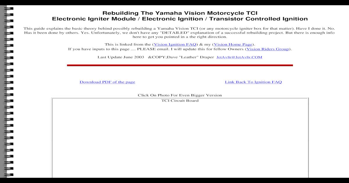 TCI Rebuild - [PDF Document]