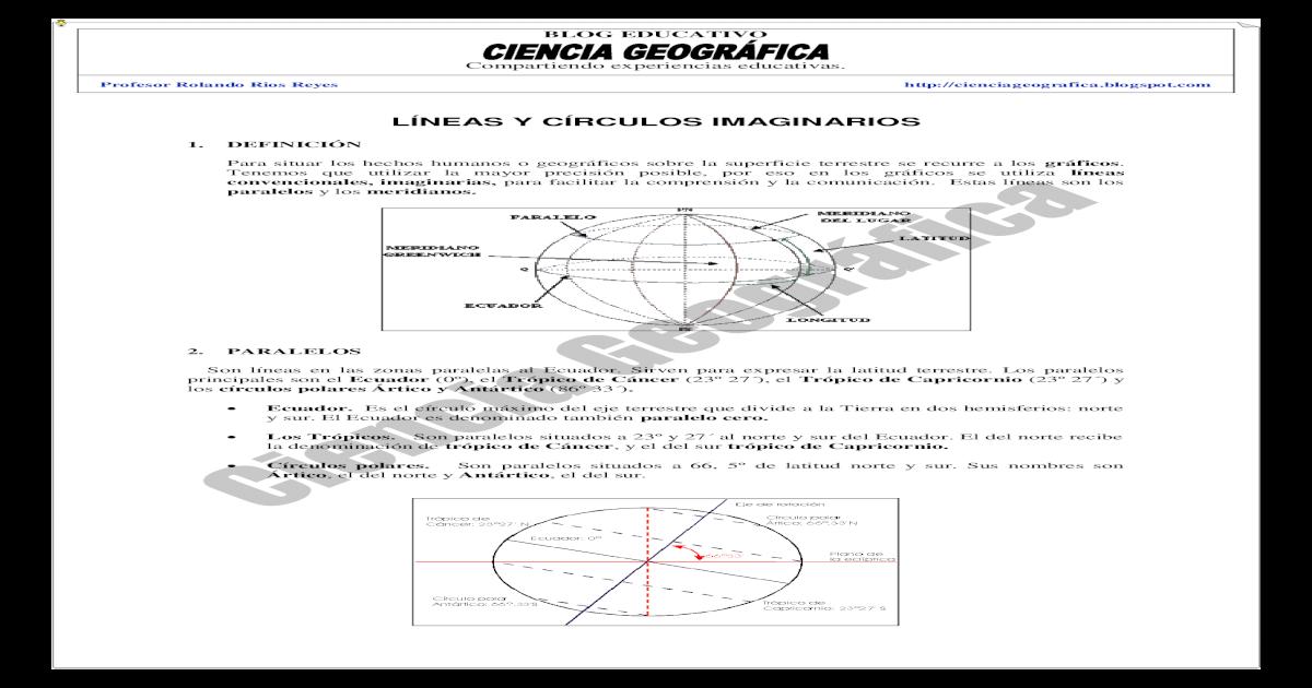 LNEAS Y CRCULOS IMAGINARIOS - [PDF Document]