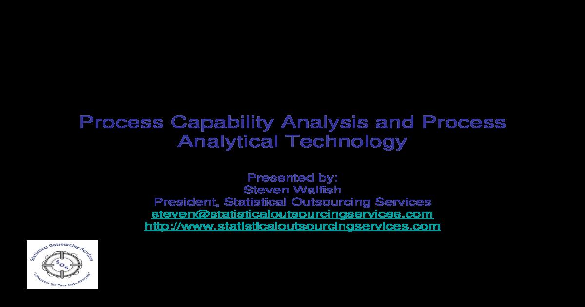 Process Capability - Cp, Cpk  Pp, Ppk - [PDF Document]