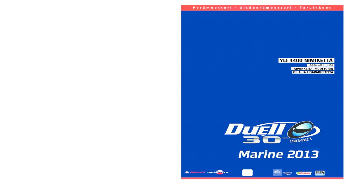 Duell Marine 2013 -kuvasto - [PDF Document]