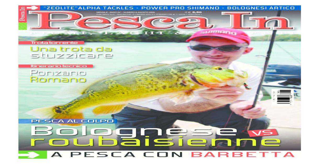 PescaIn Agosto 2009 -  PDF Document  69a9078d309d