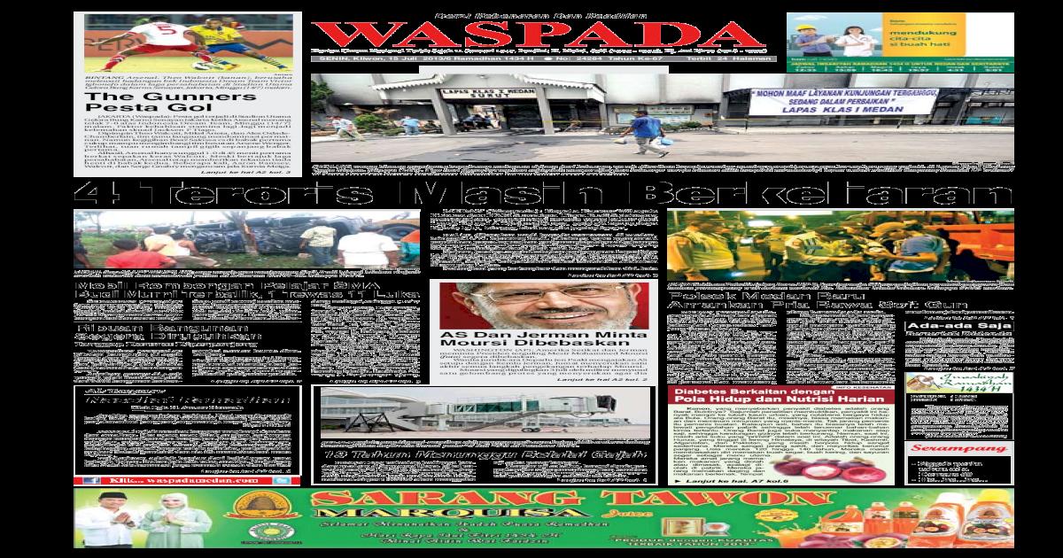 Waspada Senin 15 Juli 2013 Pdf Document