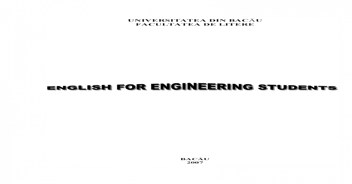 ff19bfefa4c 77321252 Curs Engleza Inginerie -  PDF Document
