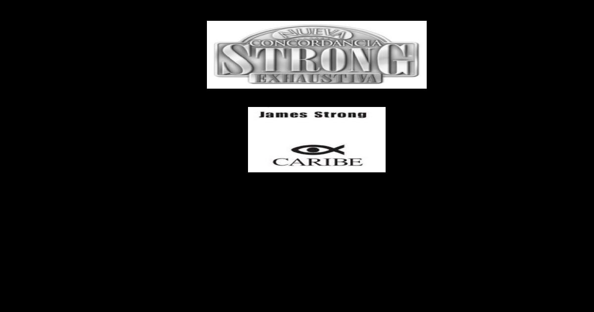 Strong Concordancia Hebreopdf Document Document Strong Hebreopdf Concordancia dorBhQxtsC