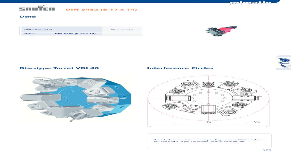 DIN 5482 (B 17 x 14) Data - Bluechip VDI40 pdfDIN 5482 (B 17