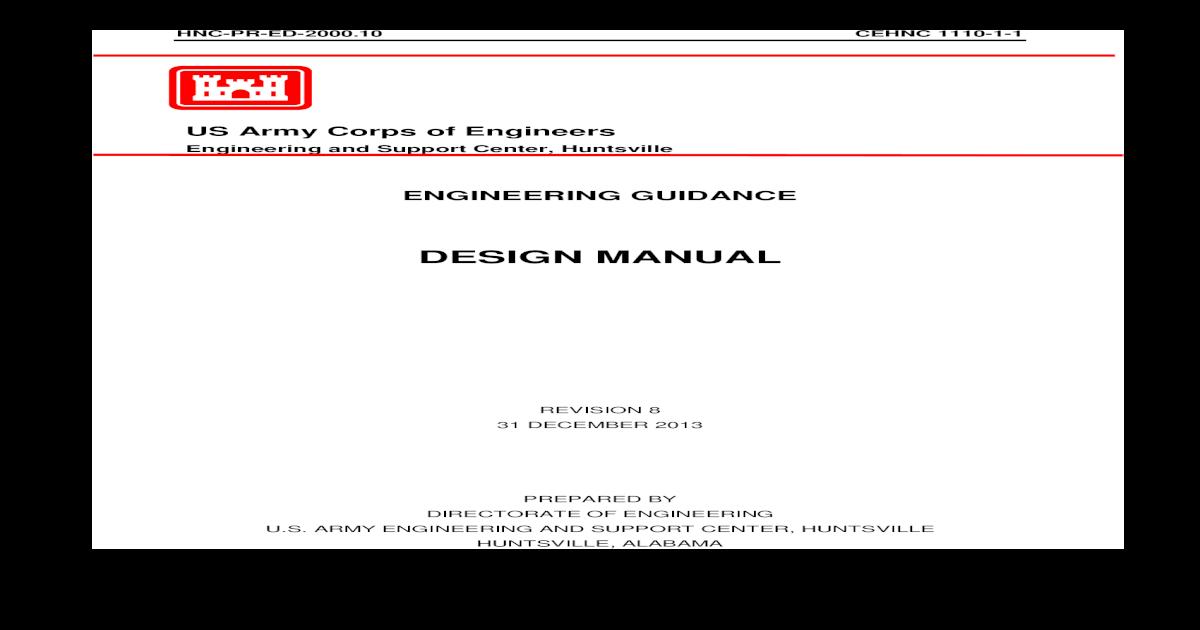 Cehnc 1110 1 1 Design Manual Rev 8 Pdf Document