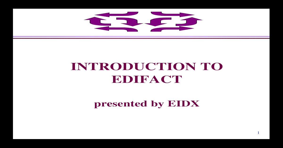 Edifact File Parser