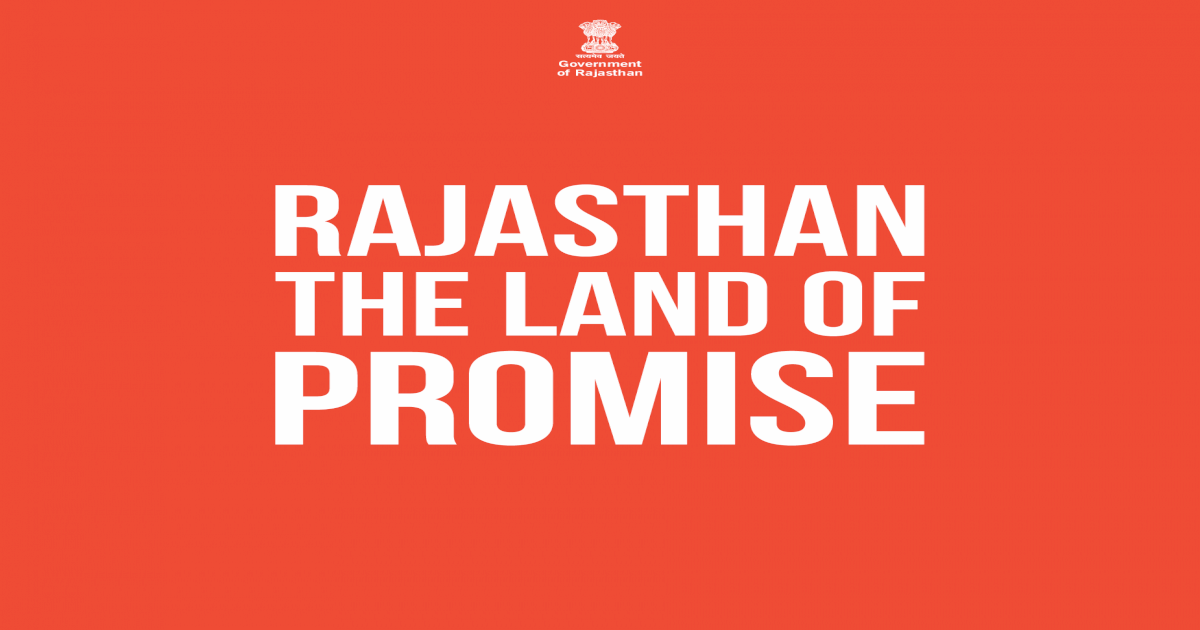 Government of Rajasthan RAJASTHAN THE LAND OF Siels Plant at