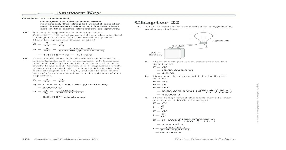 Answer Key Chapter 22 - 22 problems key.pdf176 ...