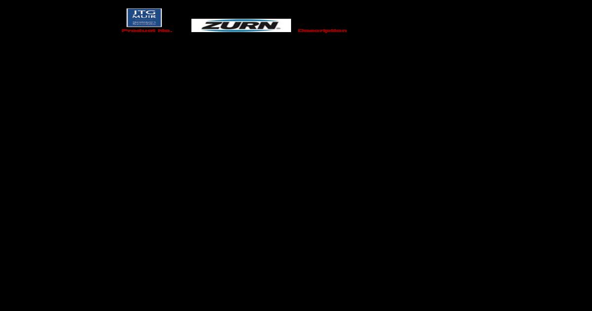 Zurn QC55FQP Qickport 1 Coupling 1 piece