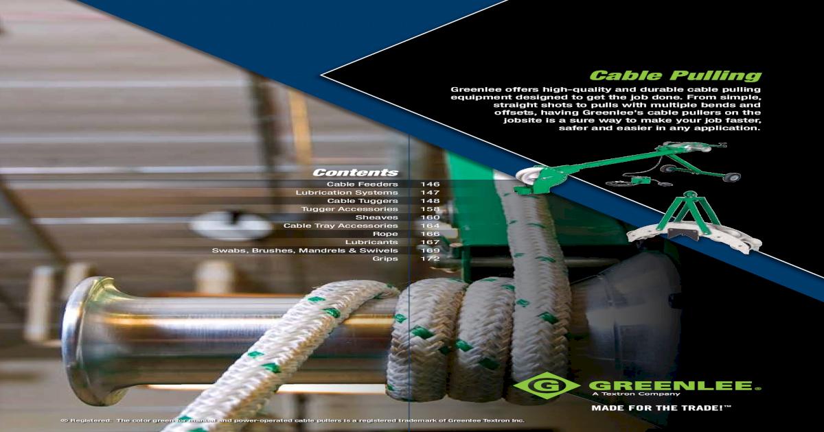 2400-Pound Pulling Capacity Greenlee 31032 Split Mesh Rod Closing Basket-Type Slack Pulling Grip