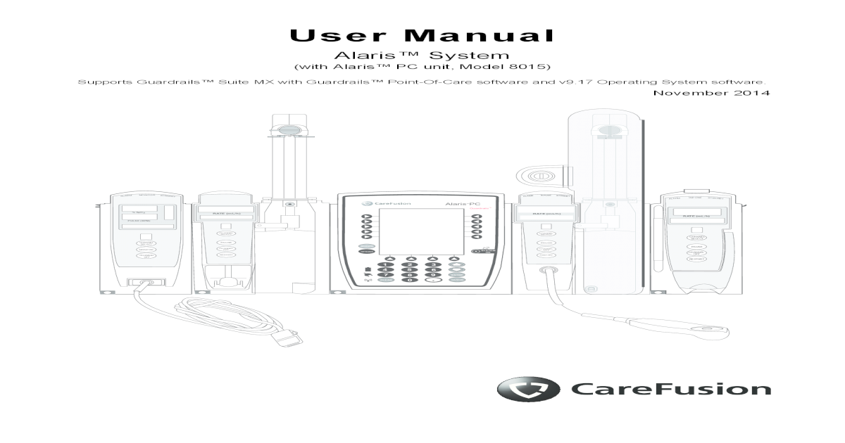 Alaris IV Pump User Manual - [PDF Document]