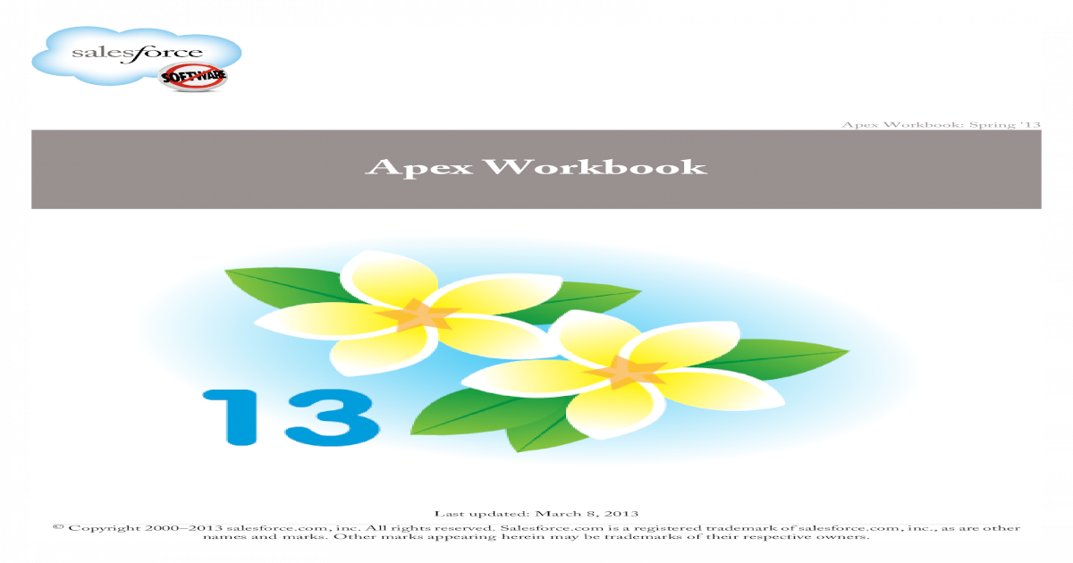 Apex Workbook - Workbook     Lesson 3: Time, Date, and