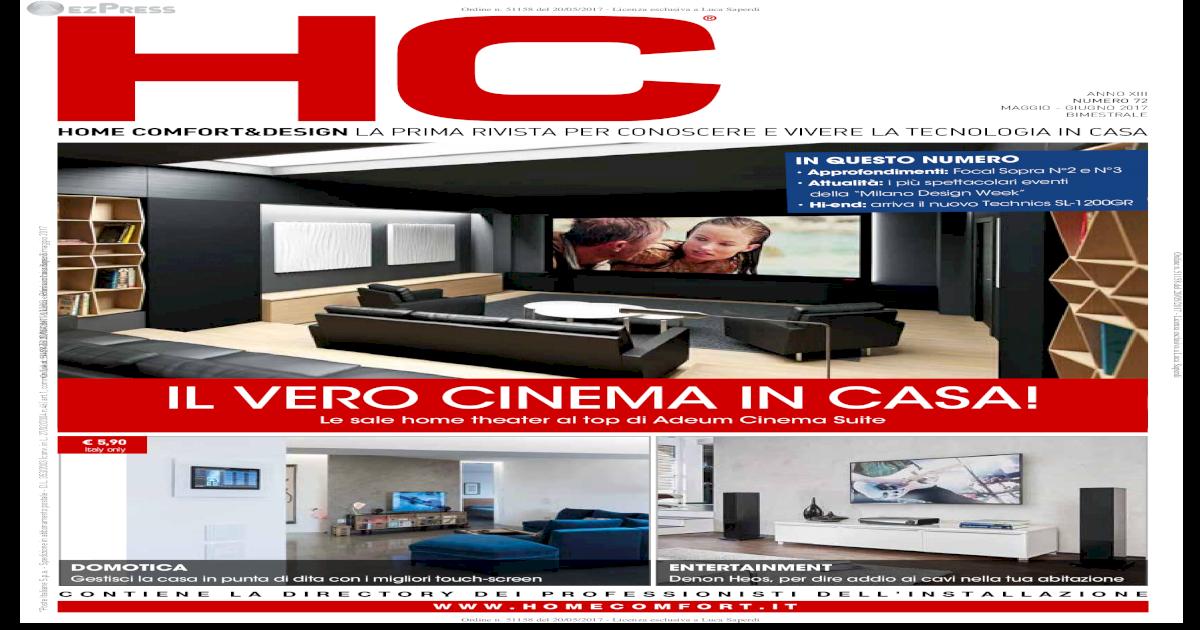 Salotto Quarantotto Paratico.Home Comfort Design La Prima Rivista Per Perfetto