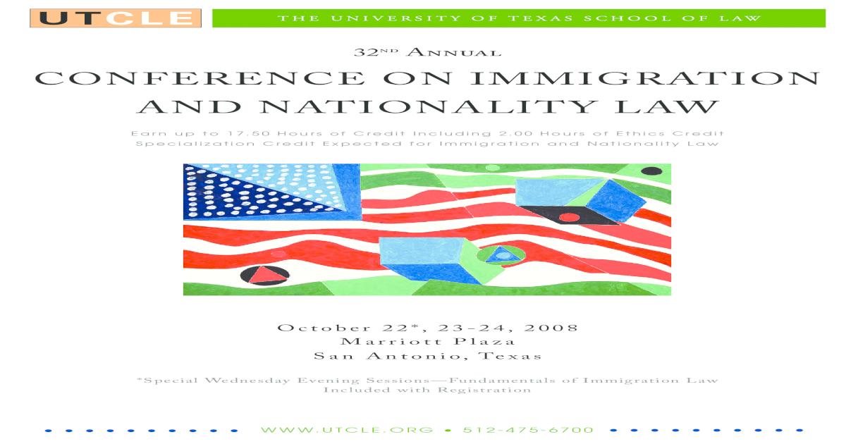UT Immigration CLE - [PDF Document]