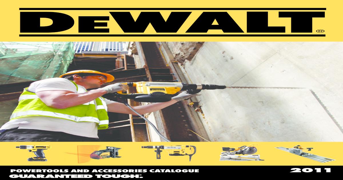 Dewalt Catalogue - [PDF Document]