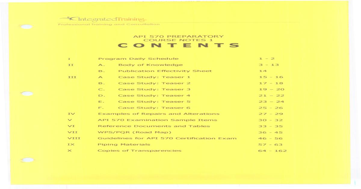 API 570 Perpratory Course Notes-1 - [PDF Document]