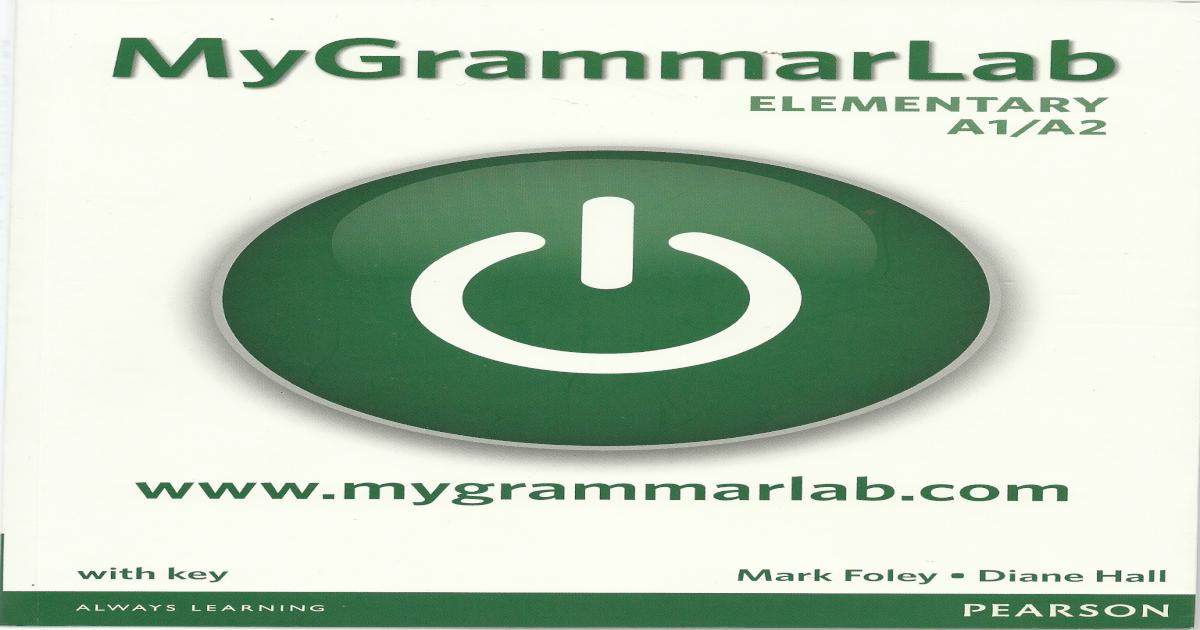 mygrammarlab intermediate with key pdf