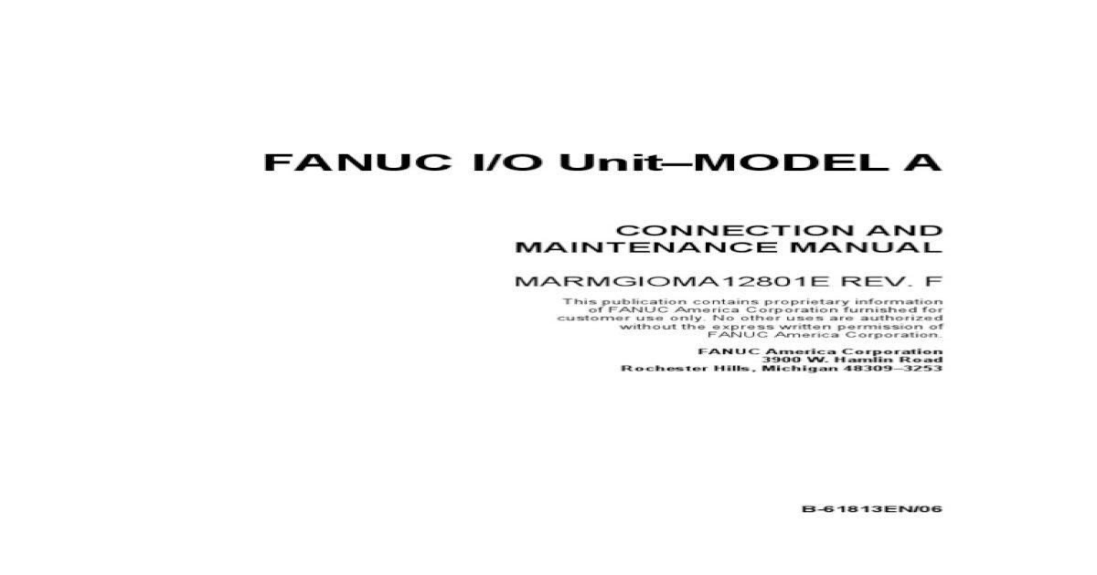 FANUC Ladder III Software V6 81 - [PDF Document]