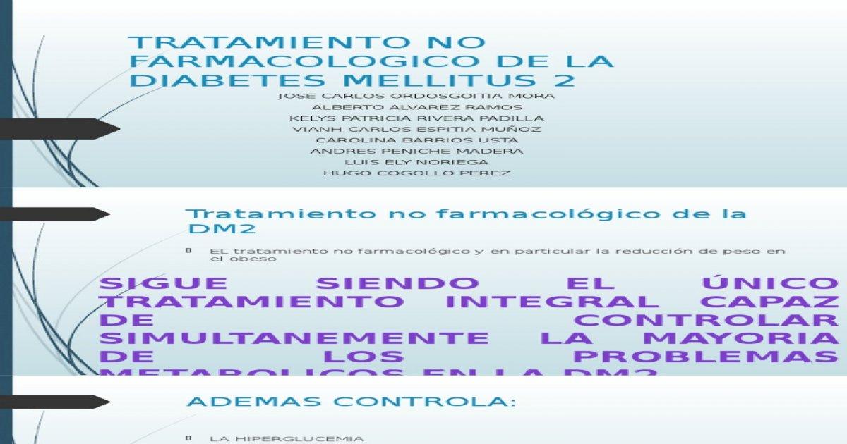 problemas de terapia farmacológica en diabetes mellitus