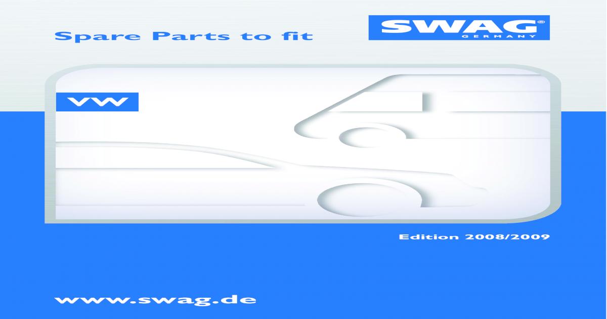 SWAG Switch door contact 30 91 9418