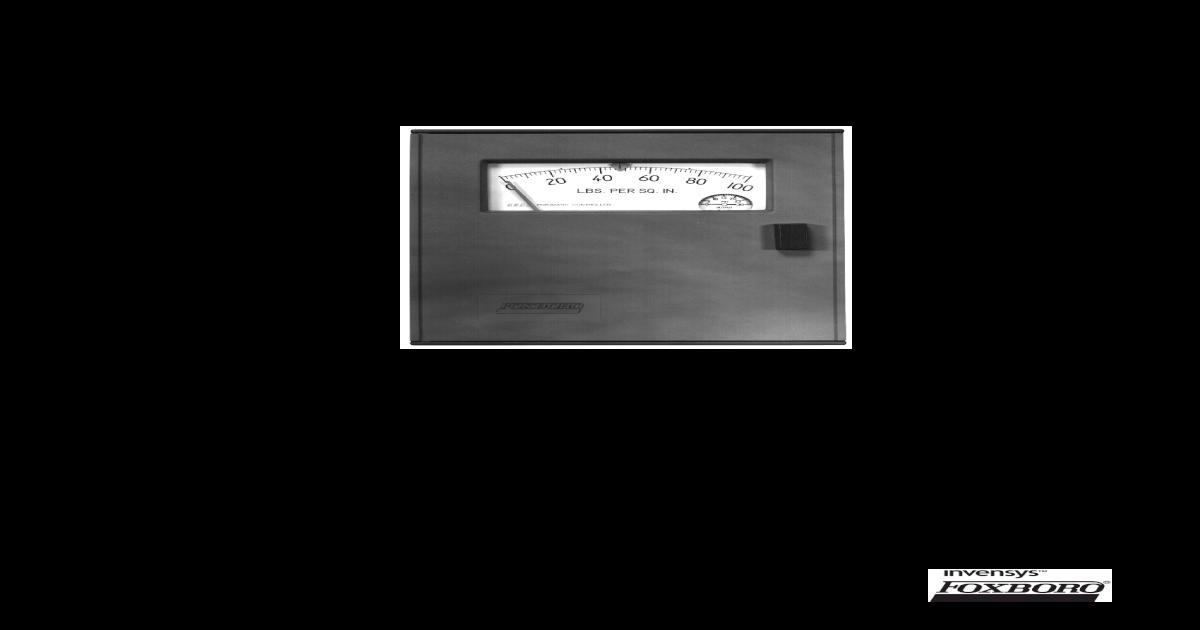 FOXBORO MODELO 43 AP - [PDF Document]