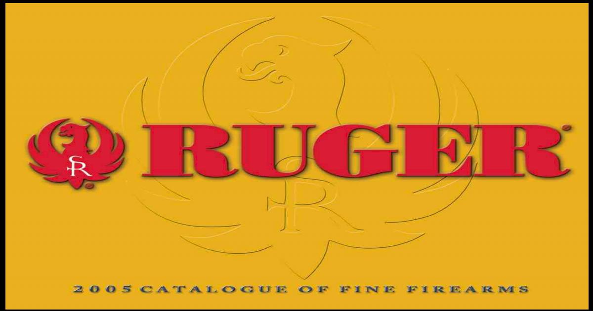 Ruger Pistol Grip Cap Medallion Fit M77 Mark 2 Magnum Number 1 All Models Brass