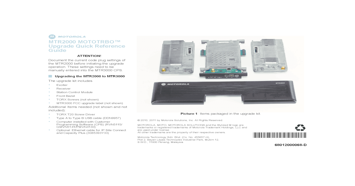 Motorola Code Plug Software