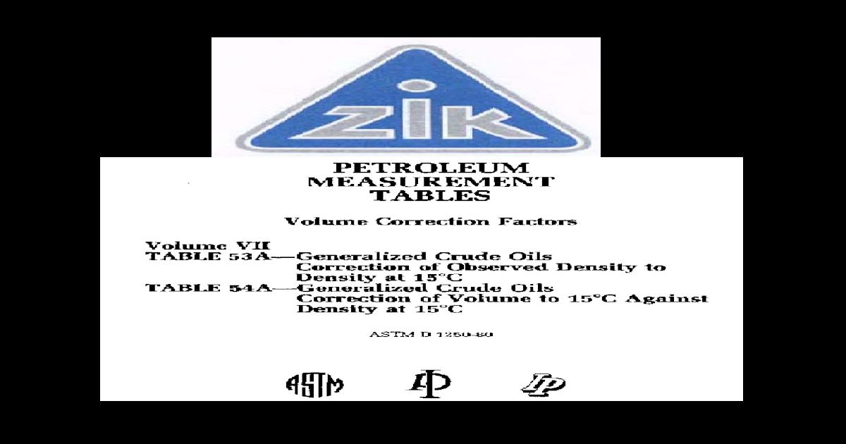 Astm d 1250-80 Tabla 53a i 54a - [PDF Document]