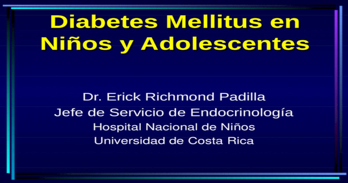 Diapositivas de insulina mellitus ppt dependientes de insulina