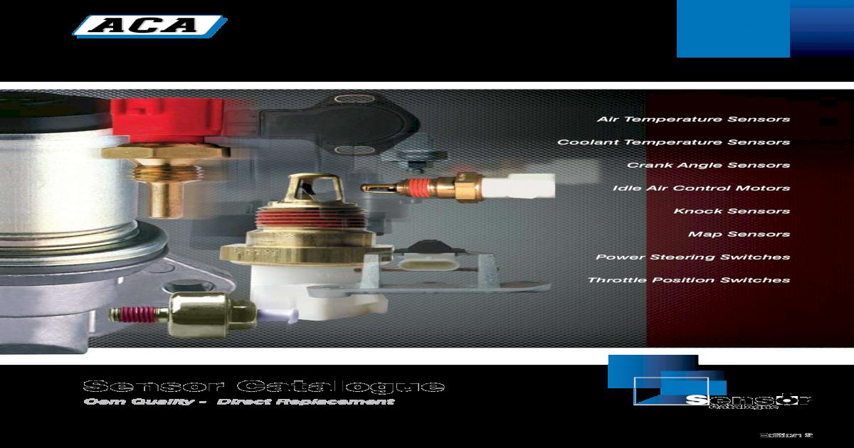 Vienta SV21 VZV21 Coolant Temperature Sensor Toyota Camry