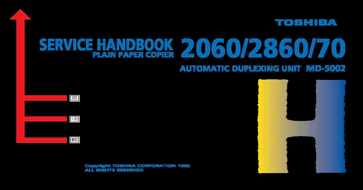 Toshiba BD-2060 2860 Service HandBook - [PDF Document]
