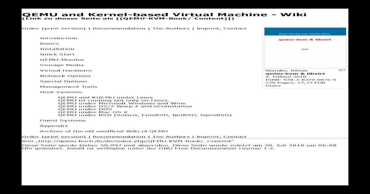 QEMU - [PDF Document]