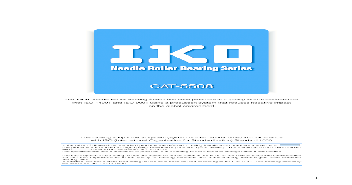 New IKO Inner Ring LRT 404520