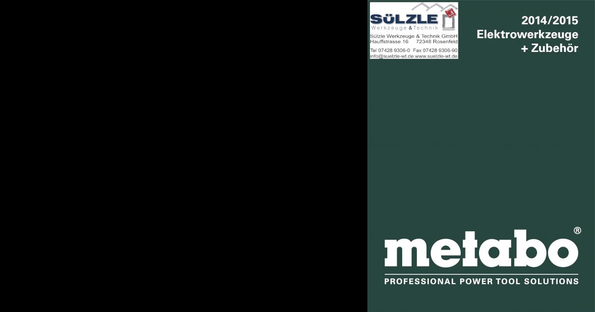 P Metabo Pumpenmontage-Set MSD 200-HWW