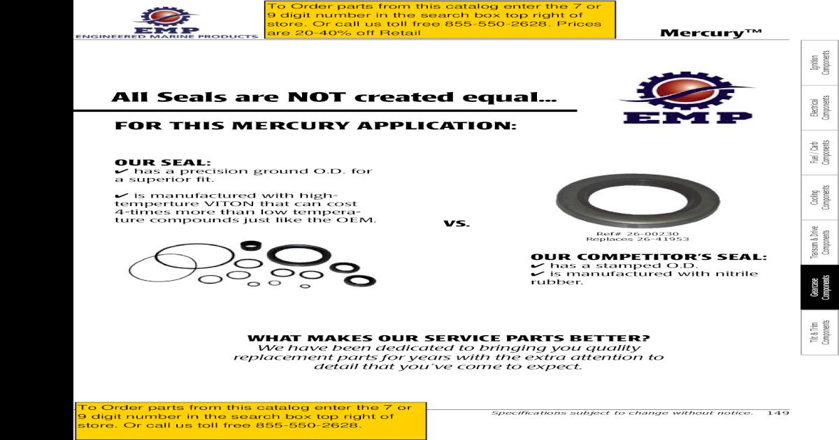 New OEM Mercruiser O-Ring Part Number 25-35029