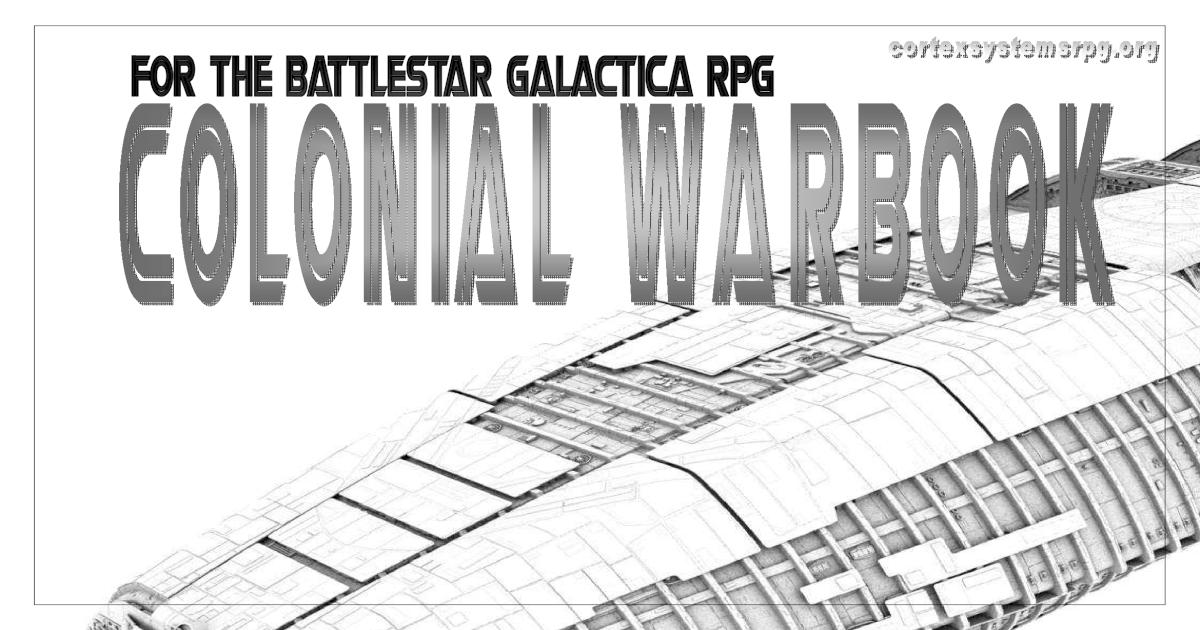 Battlestar Galactica Role Playing Game Manual. : Star ...