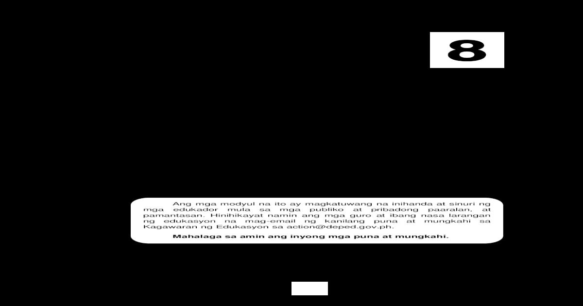 Edukasyon Sa Pagpapakatao - Grade 8 - [PDF Document]