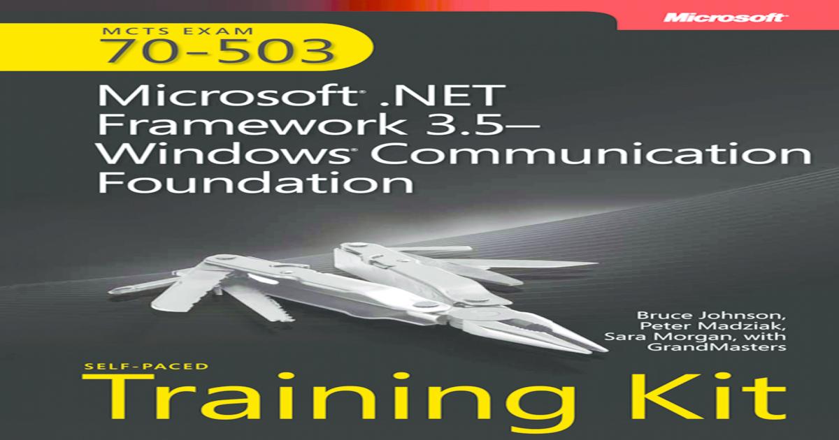 MCTS Self-Paced Training Kit (Exam 70-503): Microsoft  NET