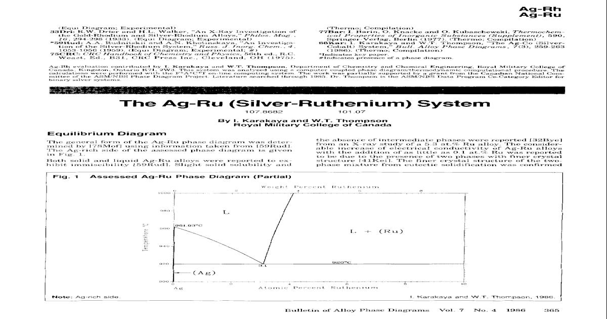 The AgRu (Silver-Ruthenium) system - [PDF Document]