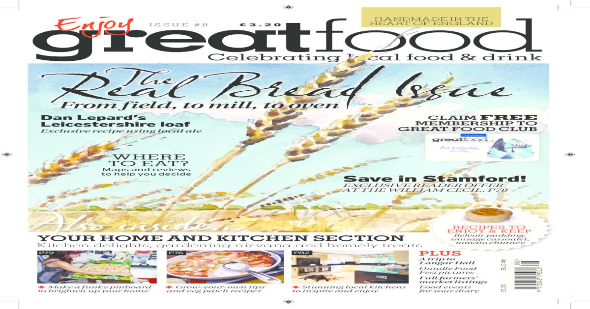 7 Great Food Magazine Septoct 2011 Pdf Document